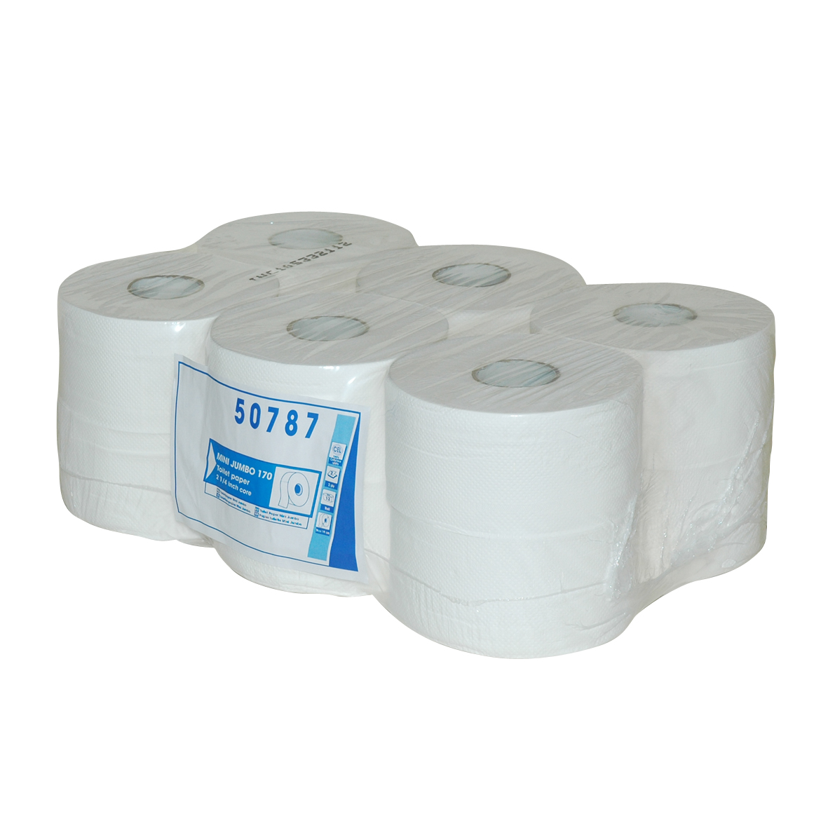 Mini jumbo toiletpaper, box 12 pcs. 2 ply