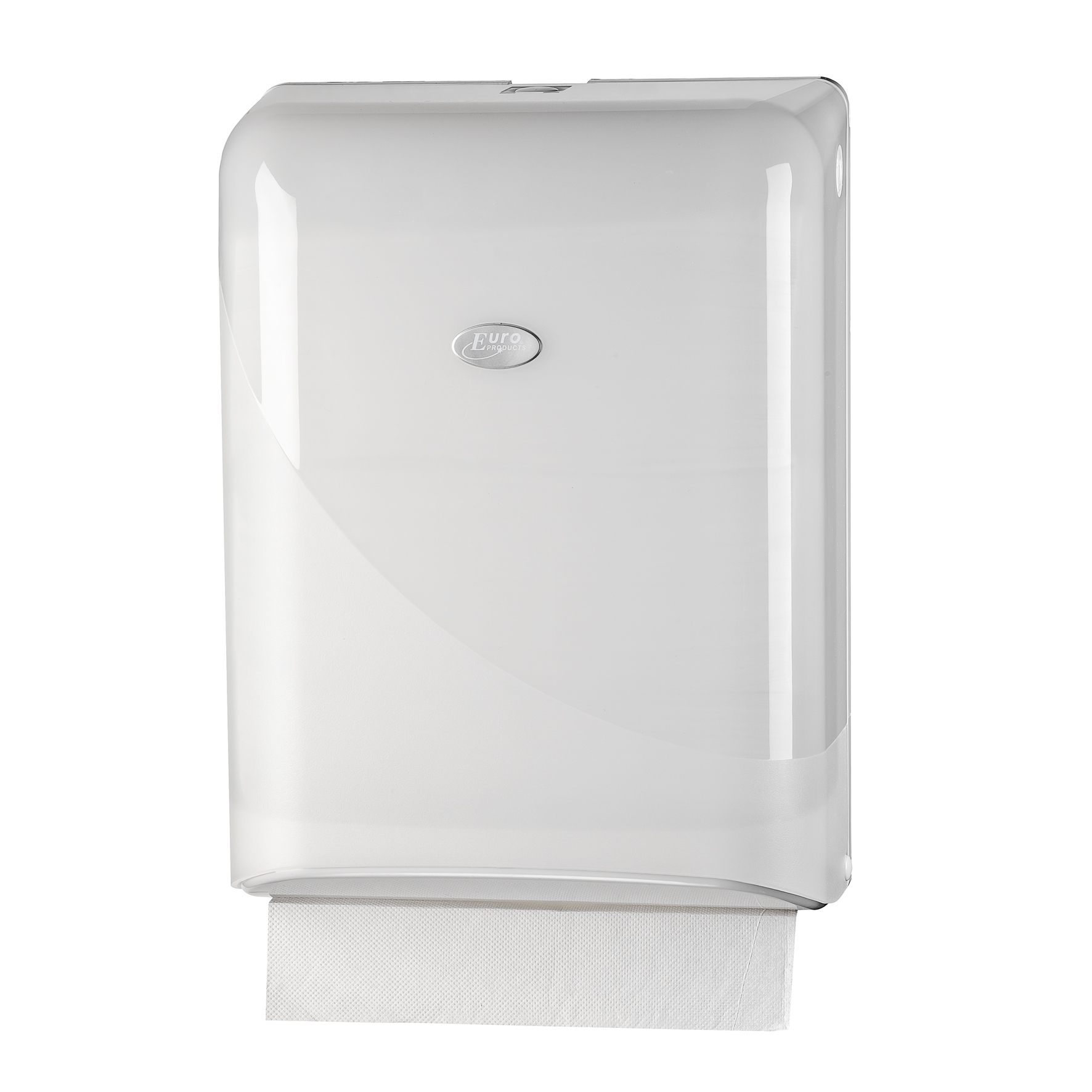 Pearl White Z-fold Towel dispenser